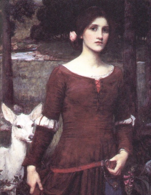 Lady Clare by John William Waterhouse
