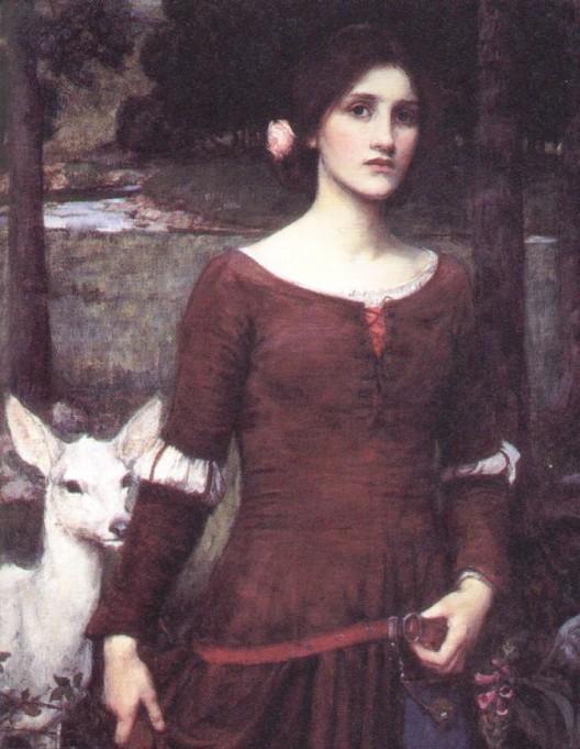Lady Clare by John William Waterhouse