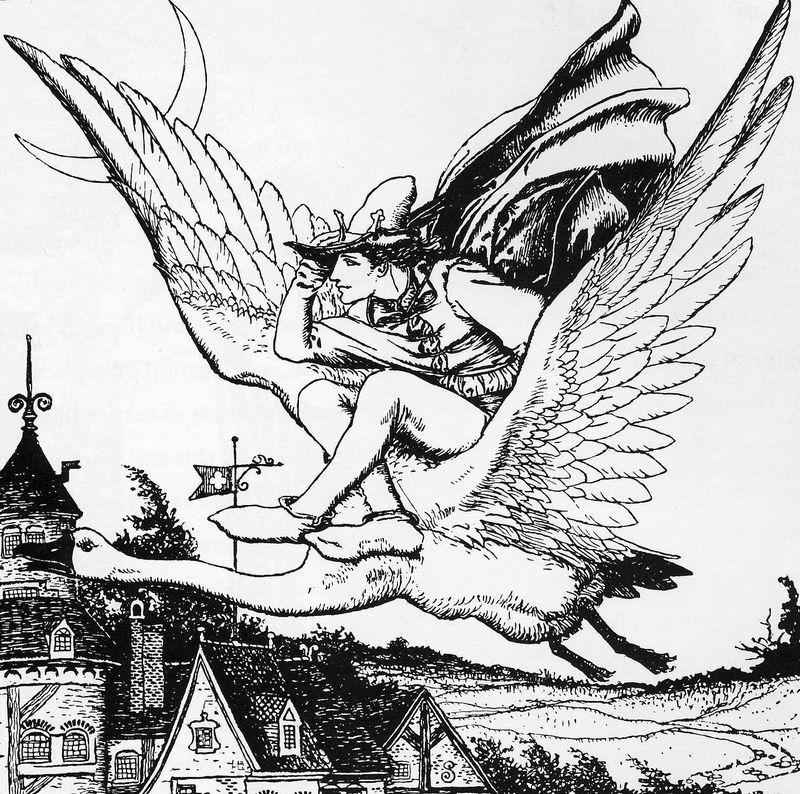 Illustration by Howard Pyle