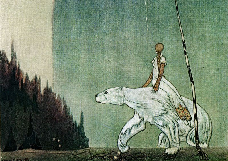 The White Bear by Kay Nielsen
