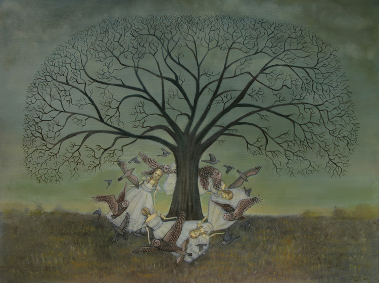 Round the Oak Tree by Kelly Louise Judd