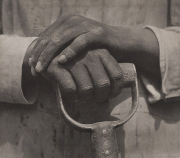 Worker's Hands by Edward Weston
