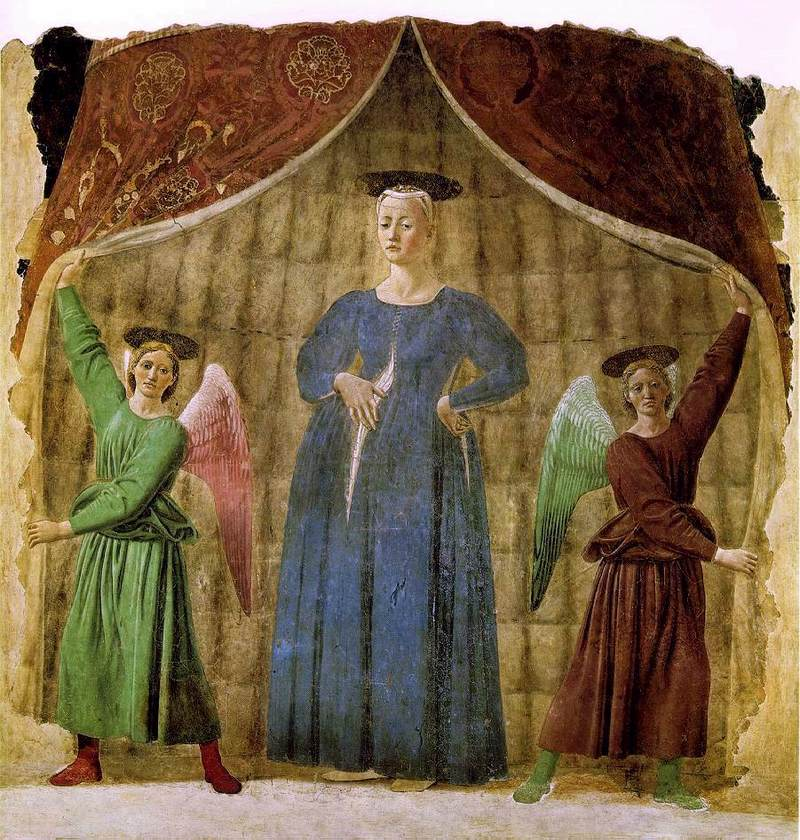 Madonna del Parto by Pierro della Francesca