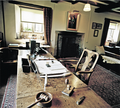 Rudyard Kipling's writing room
