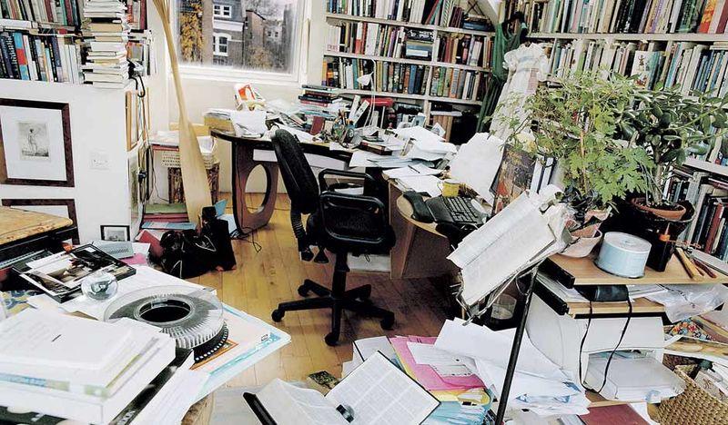 Marina Warner's room