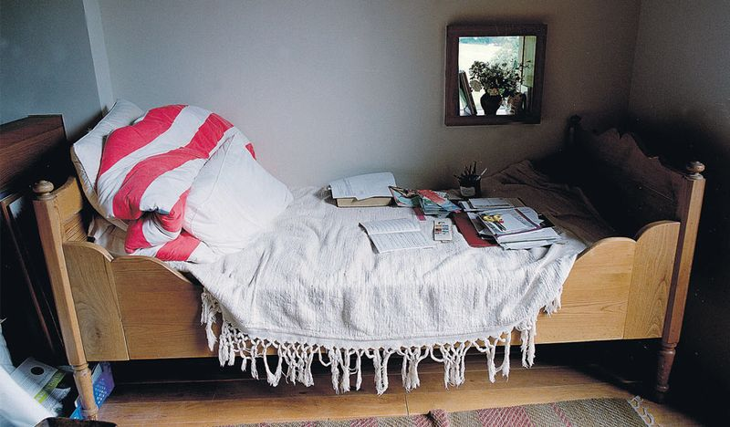 Michael Morpurgo's writing bed