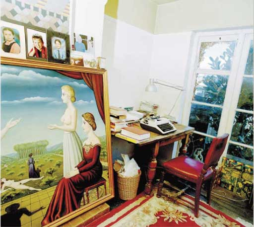 J.G. Ballard's writing room