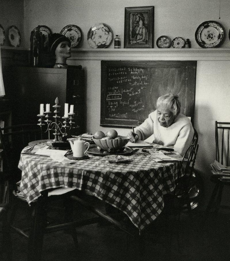 Ann Petry, photographed by Jill Krementz
