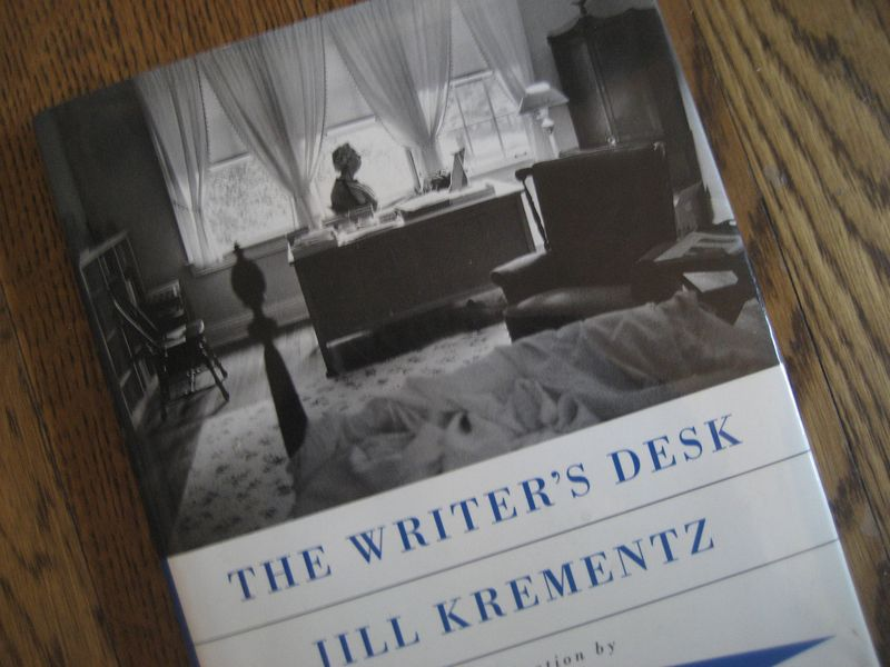 The Writer's Desk by Jill Krementz
