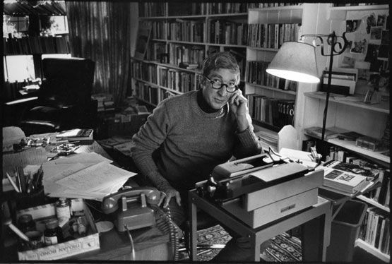 John Updike photographed by Jill Krementz