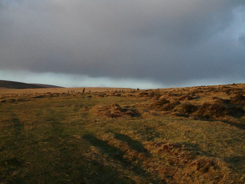 Scorhill on a stormy day.