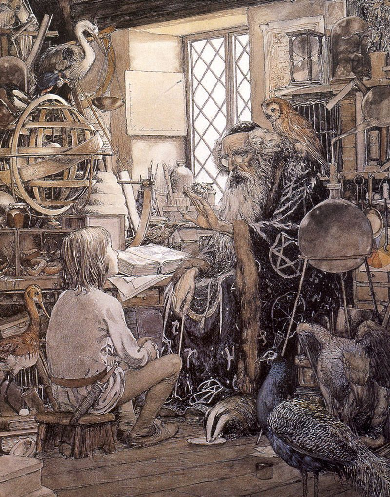 The Sword in the Stone by Alan Lee