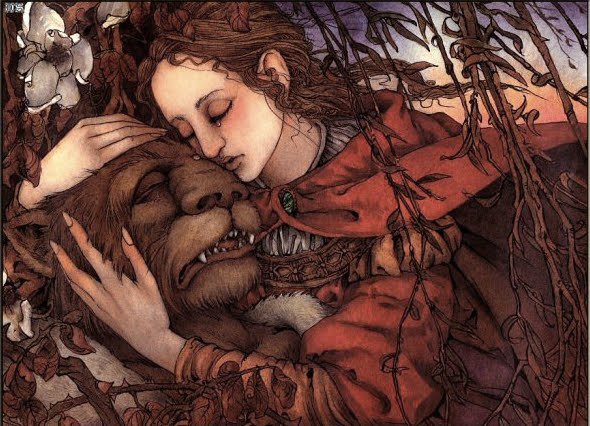 Beauty and the Beast illustration by Mercer Mayer