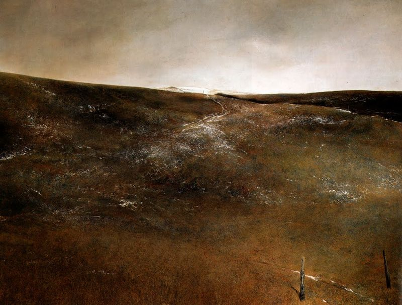 Snow Flurries by Andrew Wyeth