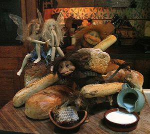 Faeries in the Kitchen by Wendy Froud