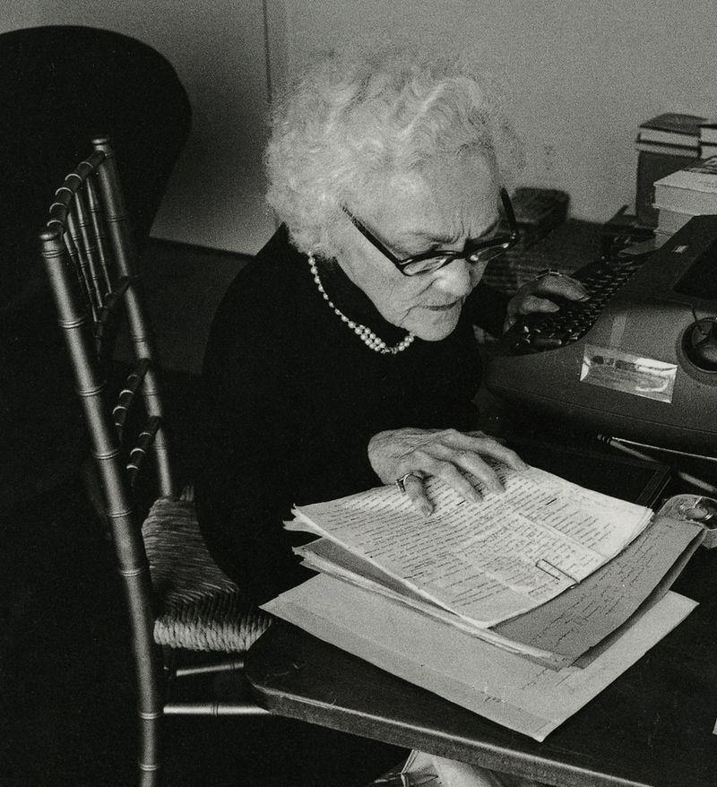 Katherine Anne Porter, photographed by Jill Krementz