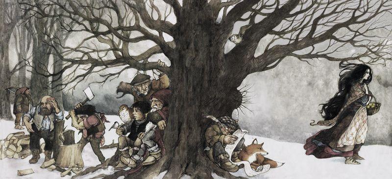 Snow White by Trina Schart Hyman