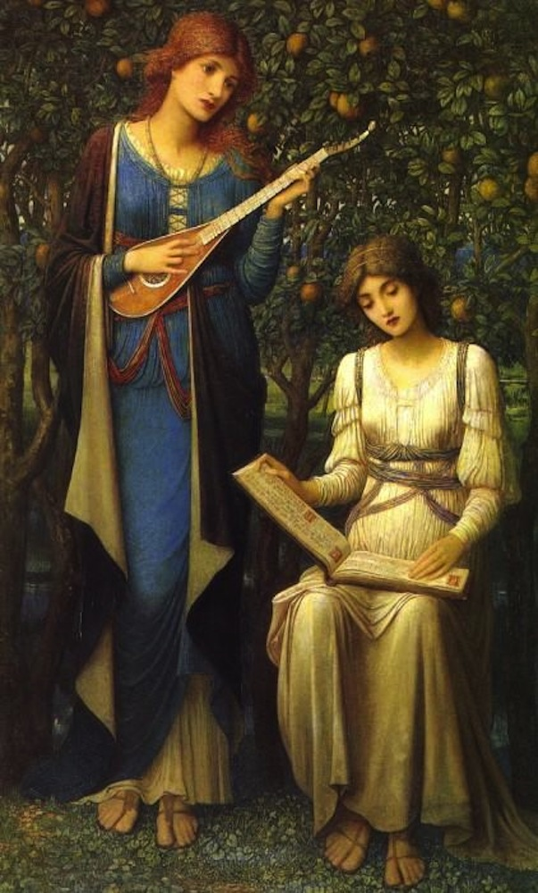 When Apples Were Golden by John Melhuish Strudwick