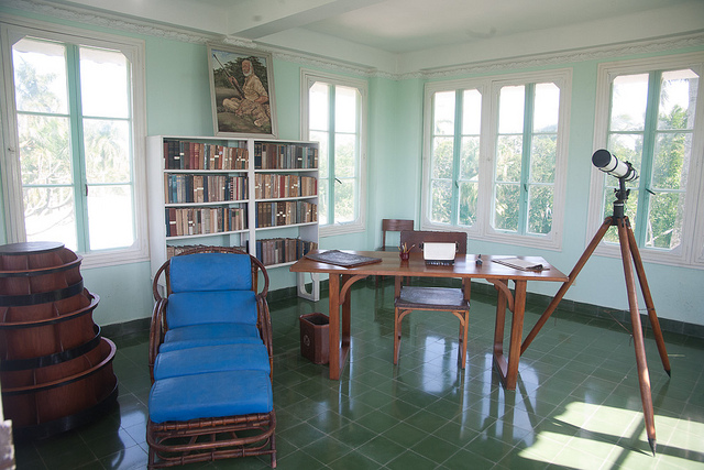Hemingway's study in Cuba