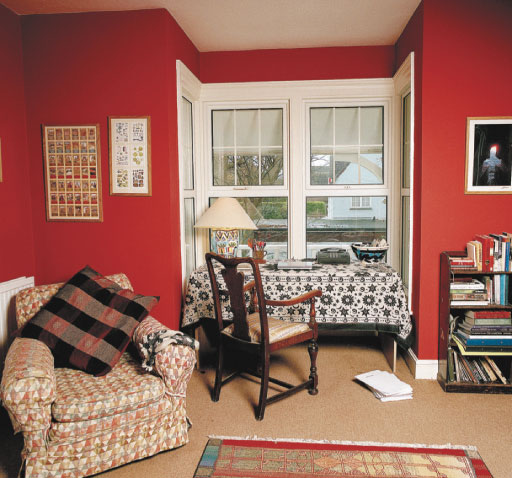 Kate Mosse's writing room