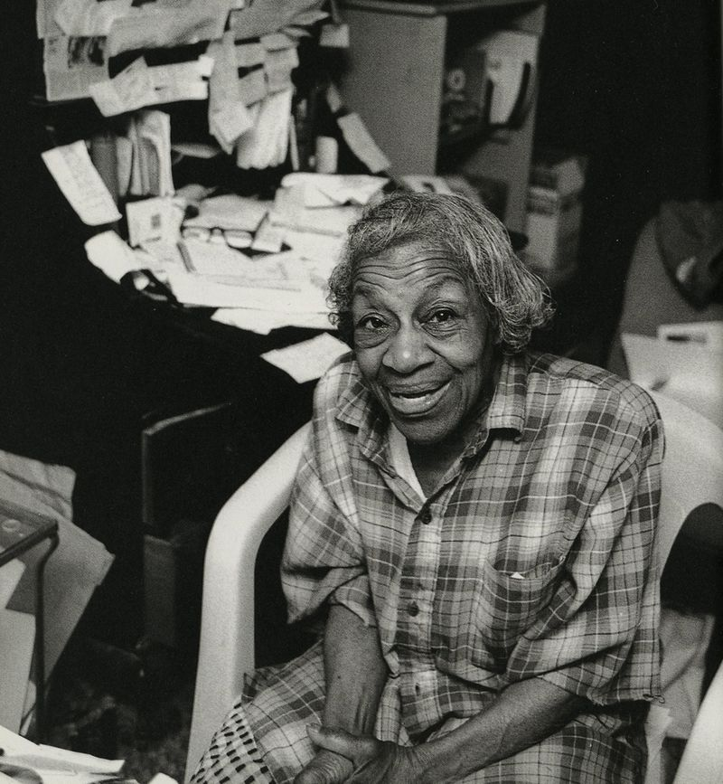 Dorothy West, photographed by Jill Krementz