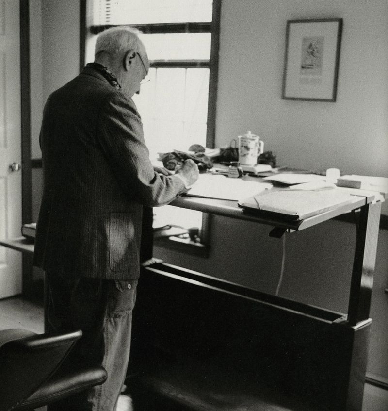 Saul Bellow, photographed by Jill Krementz