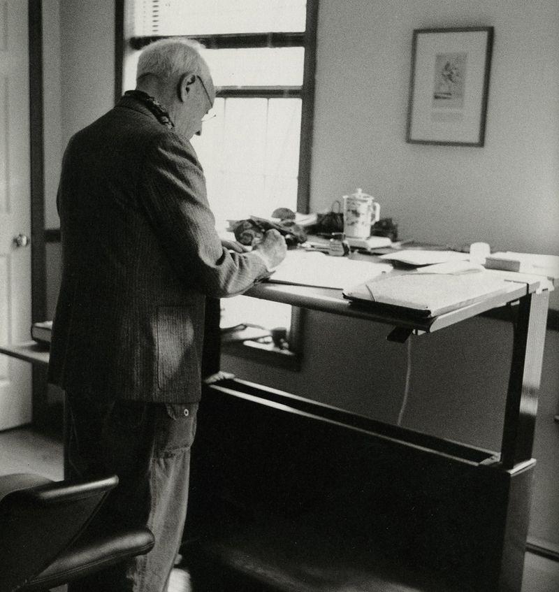 Saul Bellow, photographed by Jill Krementz