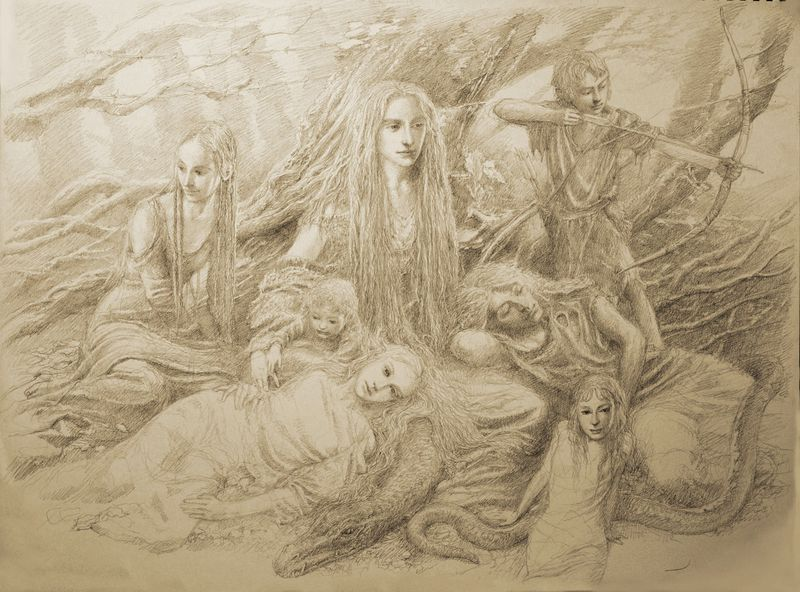 Art copyright by Alan Lee
