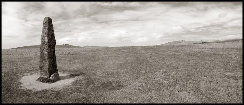 Standing Stone Near Merrivale by Stu Jenks