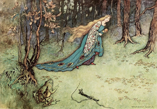The Frog Prince by Warwick Goble