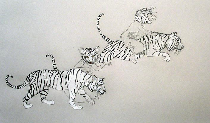 Tiger Girls by Fay Ku