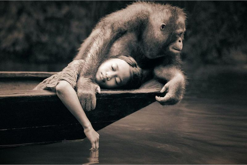 From the Ashes and Snow series by Gregory Colbert