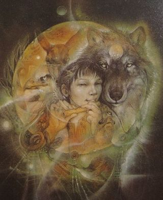 Wolf Mama by Susan Seddon Boulet (1941-1997)