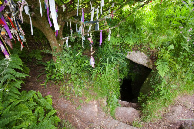 Clouties at Sanscreed Holy Well