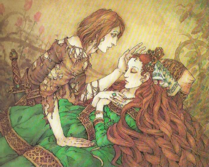 Sleeping Beauty illustration by Mercer Mayer
