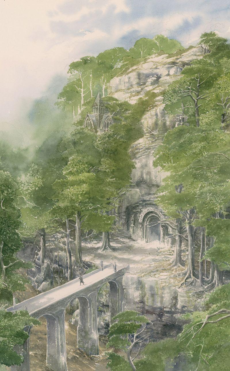 Beleg Departs Menegroth by Alan Lee