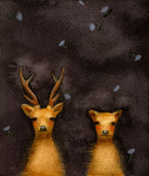 Deer by Akitaka Ito