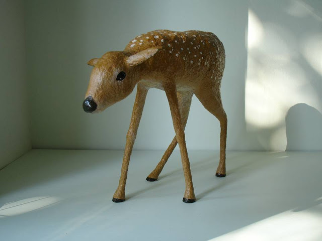 Young Deer by Nicky Clacy