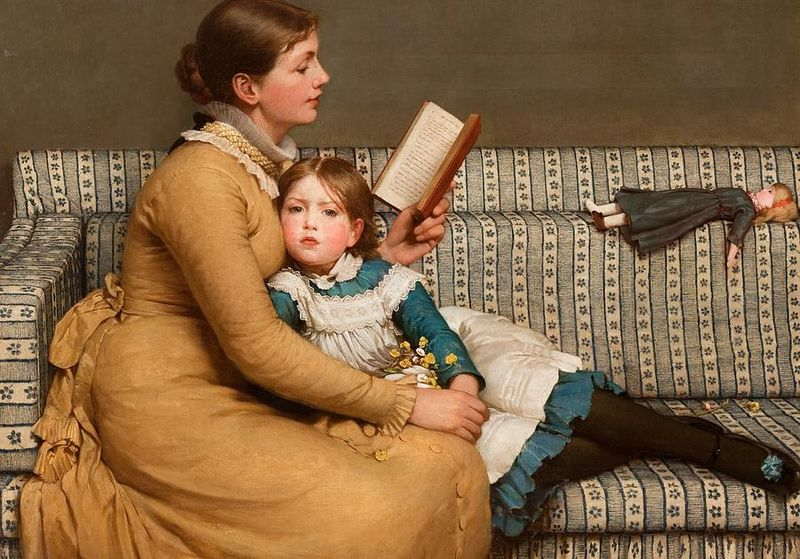 Alice in Wonderland by George Dunlop Leslie