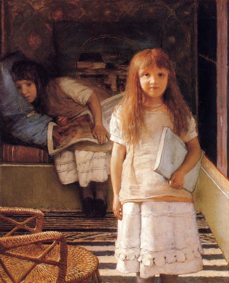 This Is Our Corner by Sir Lawrence Alma-Tadema