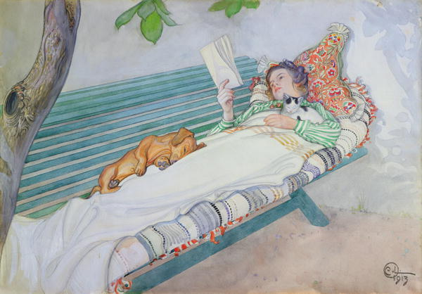 At Rest by Carl Larsson