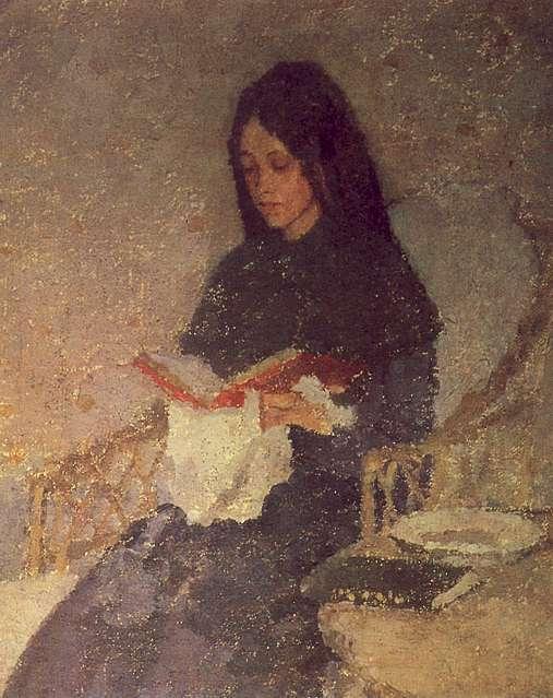 The Precious Book by Gwen John