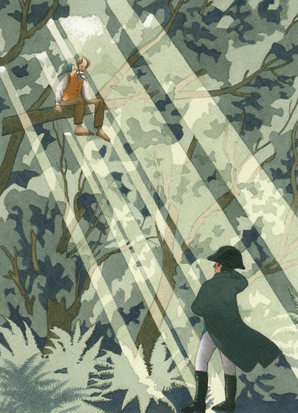 The Baron in the Trees by Yan Nascimbene