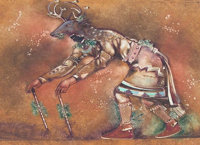 Deer Dancer by Tony Abeyta