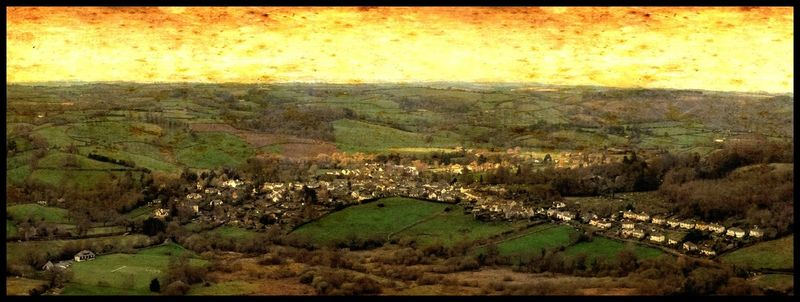Chagford from Meldon Hill by Stu Jenks