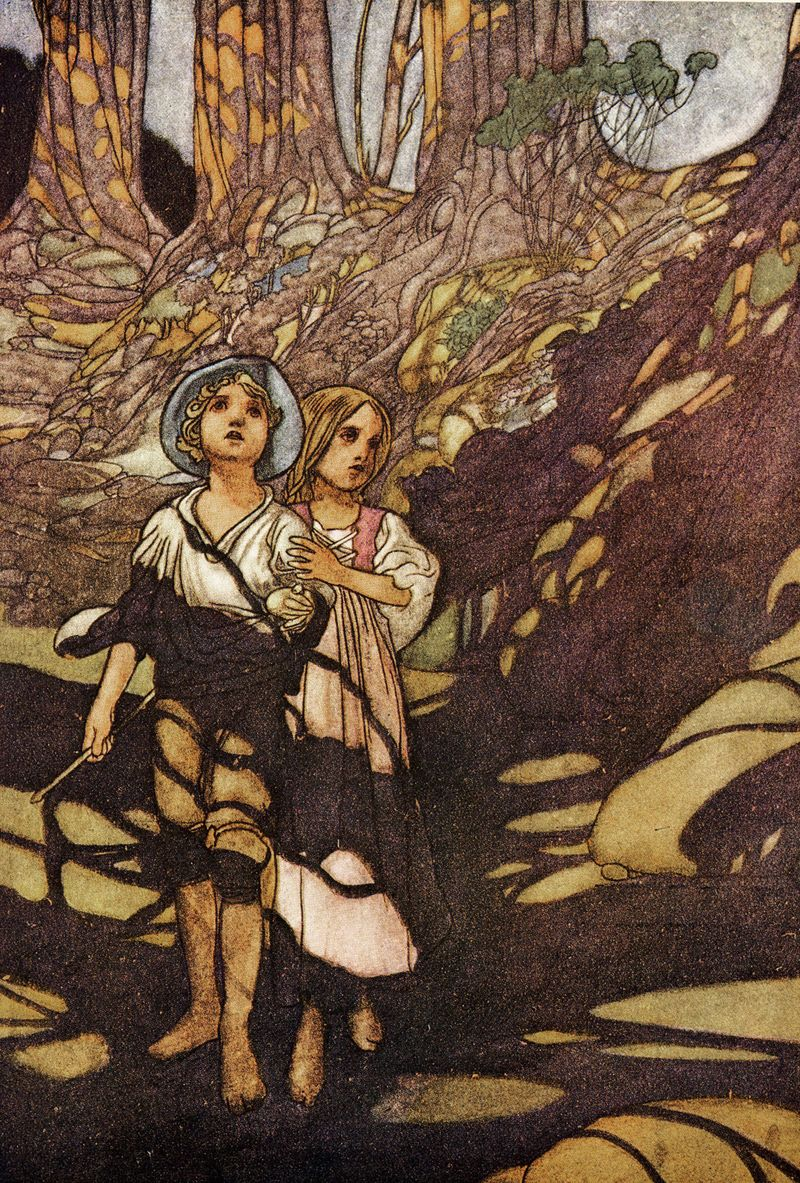 Lost in the Woods by Charles Robinson