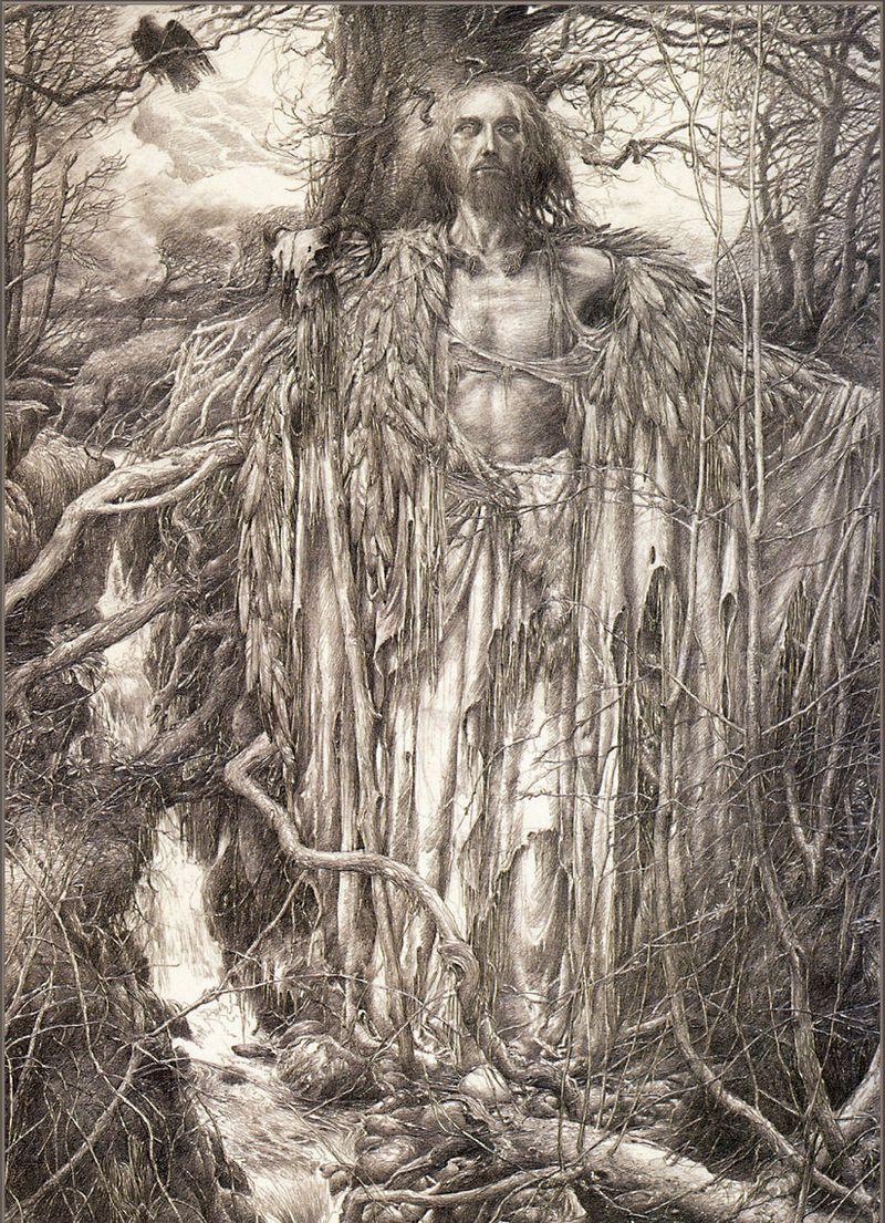 Myth Moor Into The Wood 9 Wild Men Women