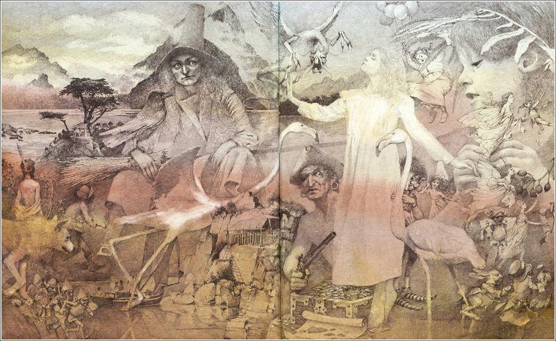 Illustration by Robert Ingpen