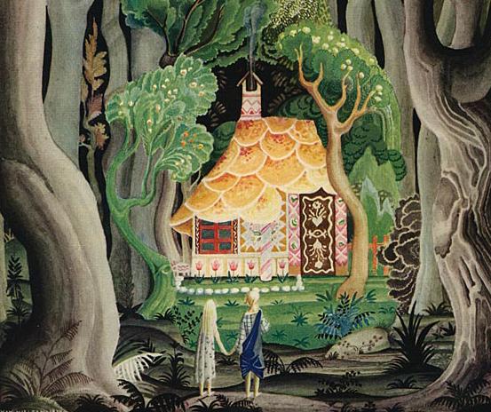 Hansel & Gretel by Kay Nielsen (1886-1957)