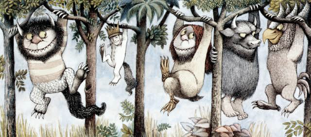 Where the Wild Things Are by Maurice Sendak (1928-2012)